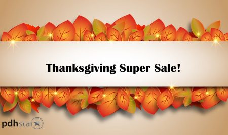 Thanksgiving Super Webinar Sale!